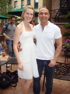 Cathy Prince & Ed Gemdjian